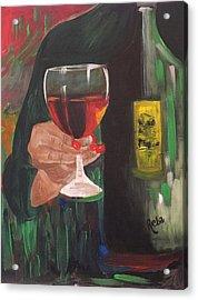Cheers Acrylic Print by Reba Baptist
