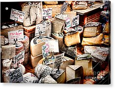 Cheese Shop Acrylic Print by Olivier Le Queinec
