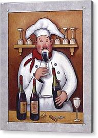 Chef 1 Acrylic Print by John Zaccheo