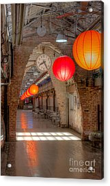 Chelsea Market I Acrylic Print by Clarence Holmes
