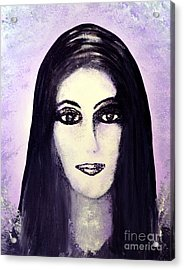 Cher Acrylic Print by Alys Caviness-Gober