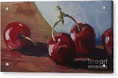 Cherries 2 Acrylic Print by John Clark