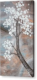 Cherry Blossom Acrylic Print by Home Art