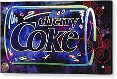 Cherry Coke 8 Acrylic Print by John Keaton