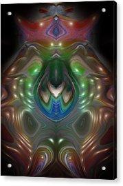 Cherub 5 Acrylic Print by Otto Rapp