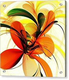 Chervona Ruta Acrylic Print by Anastasiya Malakhova
