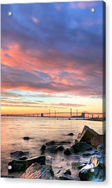 Chesapeake Mornings  Acrylic Print by JC Findley