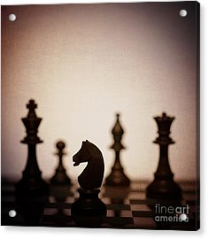 Chess Acrylic Print by Amanda And Christopher Elwell