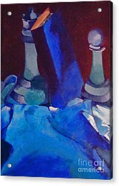 Chess Peace Acrylic Print by Brittany Perez