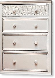 Chest Of Drawers Acrylic Print by Tom Gowanlock