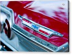 Chevrolet Impala Emblem 3 Acrylic Print by Jill Reger