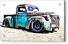Chevrolet Pickup Acrylic Print by Phil 'motography' Clark