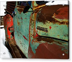 Chevy Acrylic Print by Gia Marie Houck