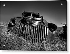 Chevy Pickup Acrylic Print by Peter Tellone