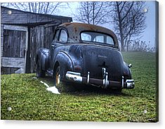 Chevy Runs Deep Acrylic Print by David Simons