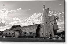 Cheyenne Wyoming Teepee - 02 Acrylic Print by Gregory Dyer