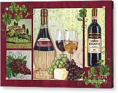 Chianti And Friends 2 Acrylic Print by Debbie DeWitt