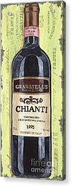 Chianti And Friends Panel 1 Acrylic Print by Debbie DeWitt