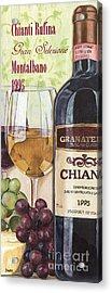 Chianti Rufina Acrylic Print by Debbie DeWitt