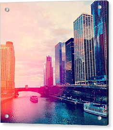 Chicago #1 Acrylic Print by Stacia Blase