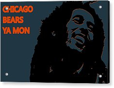 Chicago Bears Ya Mon Acrylic Print by Joe Hamilton