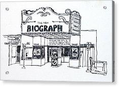 Chicago Biograph Theater Acrylic Print by Robert Birkenes