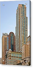 Chicago - Chi-town - Chitown - The City Beautiful Acrylic Print by Christine Till