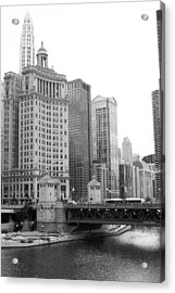 Chicago Downtown 2 Acrylic Print by Bruce Bley