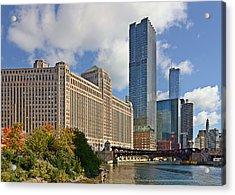 Chicago Merchandise Mart Acrylic Print by Christine Till