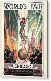 Chicago World's Fair 1933 Acrylic Print by Granger