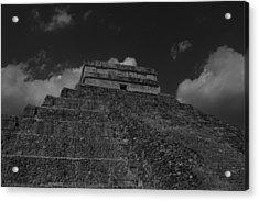 Chichen Itza Mayan Ruins  Acrylic Print by Shaun Maclellan