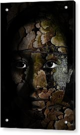 Child Of The Forest Acrylic Print by Christopher Gaston