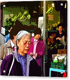 Chinatown Marketplace Acrylic Print by Joseph Coulombe
