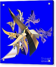 Chinese Puzzle Acrylic Print by Brian Raggatt