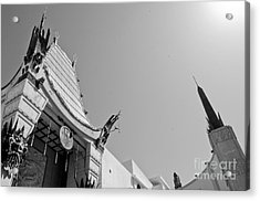 Chinese Theater Acrylic Print by Dan Holm