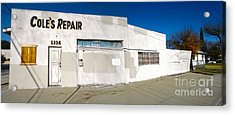 Chino - Coles Repair - 02 Acrylic Print by Gregory Dyer