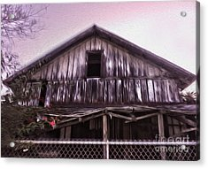 Chino Haunted Barn Acrylic Print by Gregory Dyer