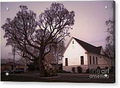 Chino Old School House At Dusk- 03 Acrylic Print by Gregory Dyer