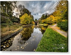 Chirk Canal Acrylic Print by Adrian Evans