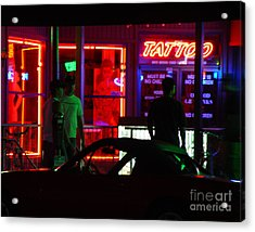 Choices After Midnight Acrylic Print by Peter Piatt