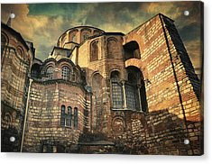 Chora Church Acrylic Print by Taylan Soyturk