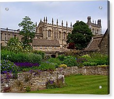 Christ Church In Spring Acrylic Print by Rona Black