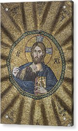 Christ Pantocrator Surrounded By The Prophets Of The Old Testament 2 Acrylic Print by Ayhan Altun