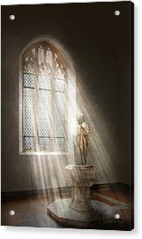 Christian - Heavenly Father Acrylic Print by Mike Savad