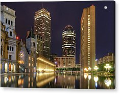 Christian Science Center-boston Acrylic Print by Joann Vitali