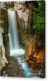 Christine Falls Acrylic Print by Inge Johnsson