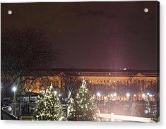 Christmas At The Ellipse - Washington Dc - 01134 Acrylic Print by DC Photographer