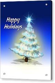 Christmas Card 4 Acrylic Print by Mark Ashkenazi