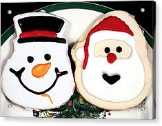 Christmas Cookies Acrylic Print by John Rizzuto