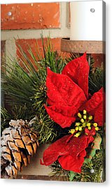 Christmas Decor Close Acrylic Print by Kenneth Sponsler